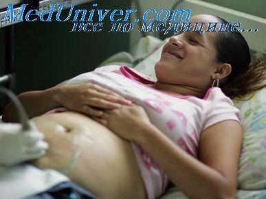 Определение срока беременности по ктр