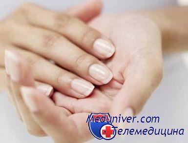 ранки и трещины на пальцах рук