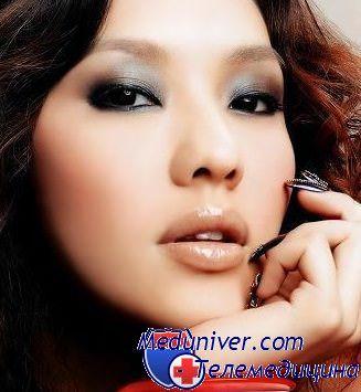 макияж узких глаз