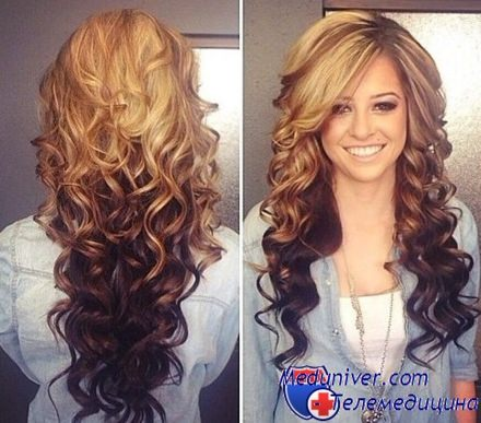 Какой цвет волос для белокожих