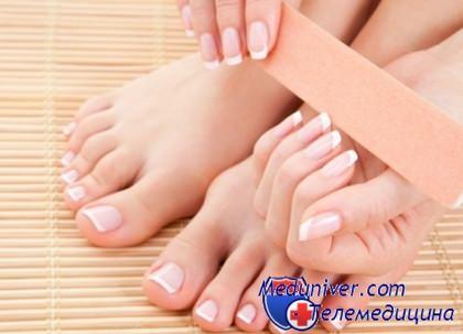 подрезание ногтей и уход за короткими ногтями