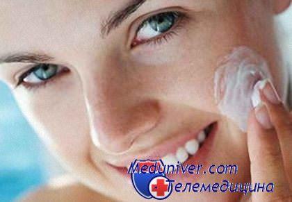 Мытье лица при прыщах