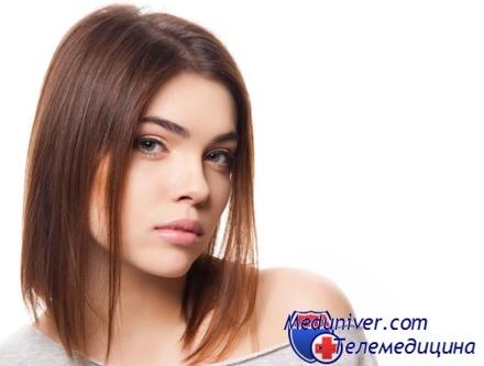 Прическа при редких тонких волосах