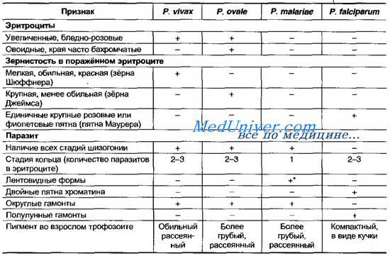 Диагностика малярии. Лечение малярии. Профилактика малярии.