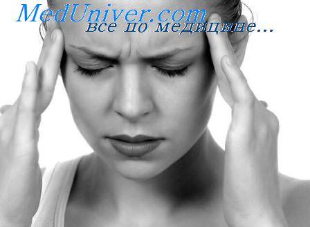 головная боль при запоре