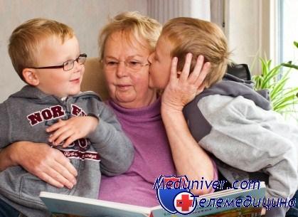 Бабушка учет внучка сексу