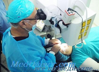Глазной хирург - офтальмохирург