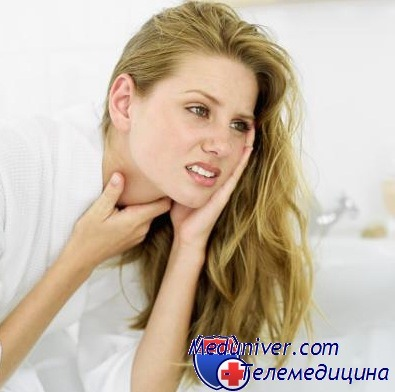 Полоскание горла лимонной кислотой