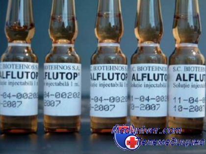 алфлутоп при болях в суставе
