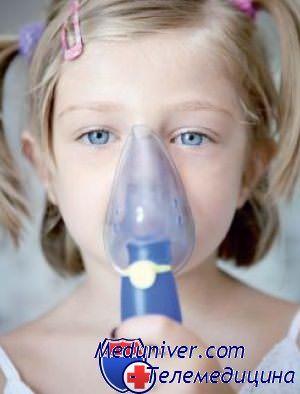 Пример лечения боли в горле небулайзером и лекарствами