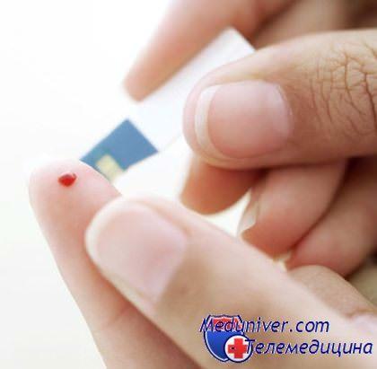 тест полоски для определения сахара