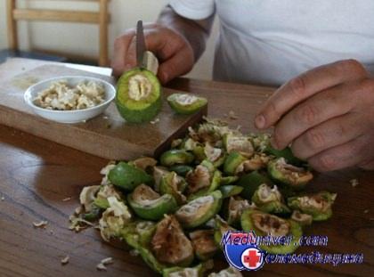 рамблер рецепт варенья из грецких орехов