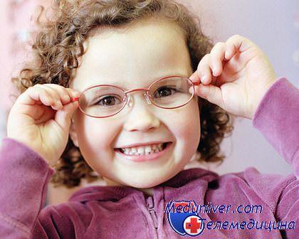 предрасположенность к близорукости у детей