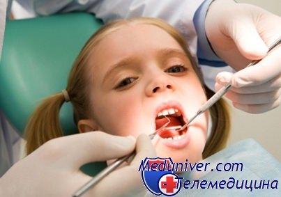 ребенок и стоматолог